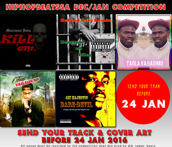 Hip Hop Beats SA - Dec/Jan Hip Hop Competition
