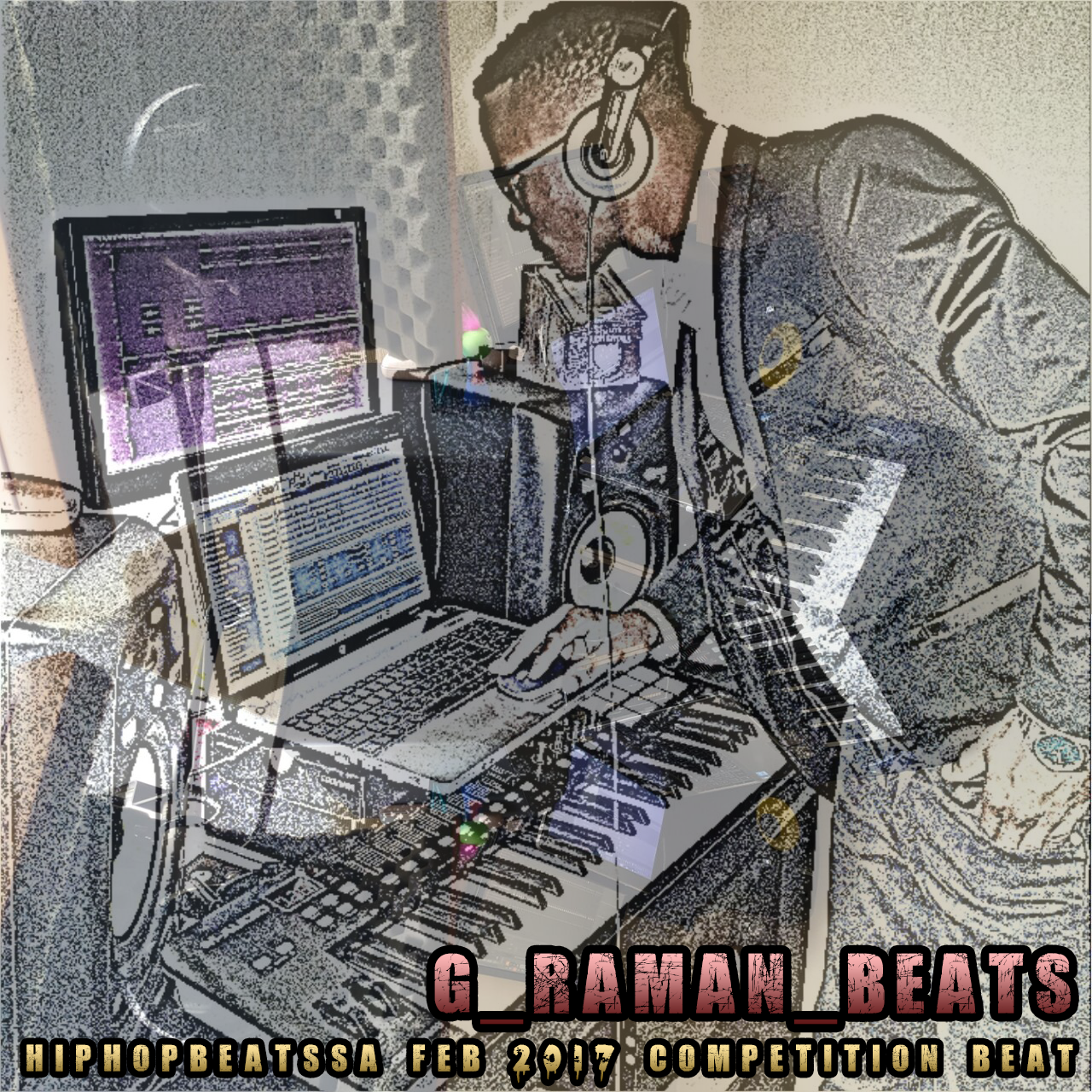 Hip Hop Beats SA Feb-March Competition beat prod by (G-raman Beats)