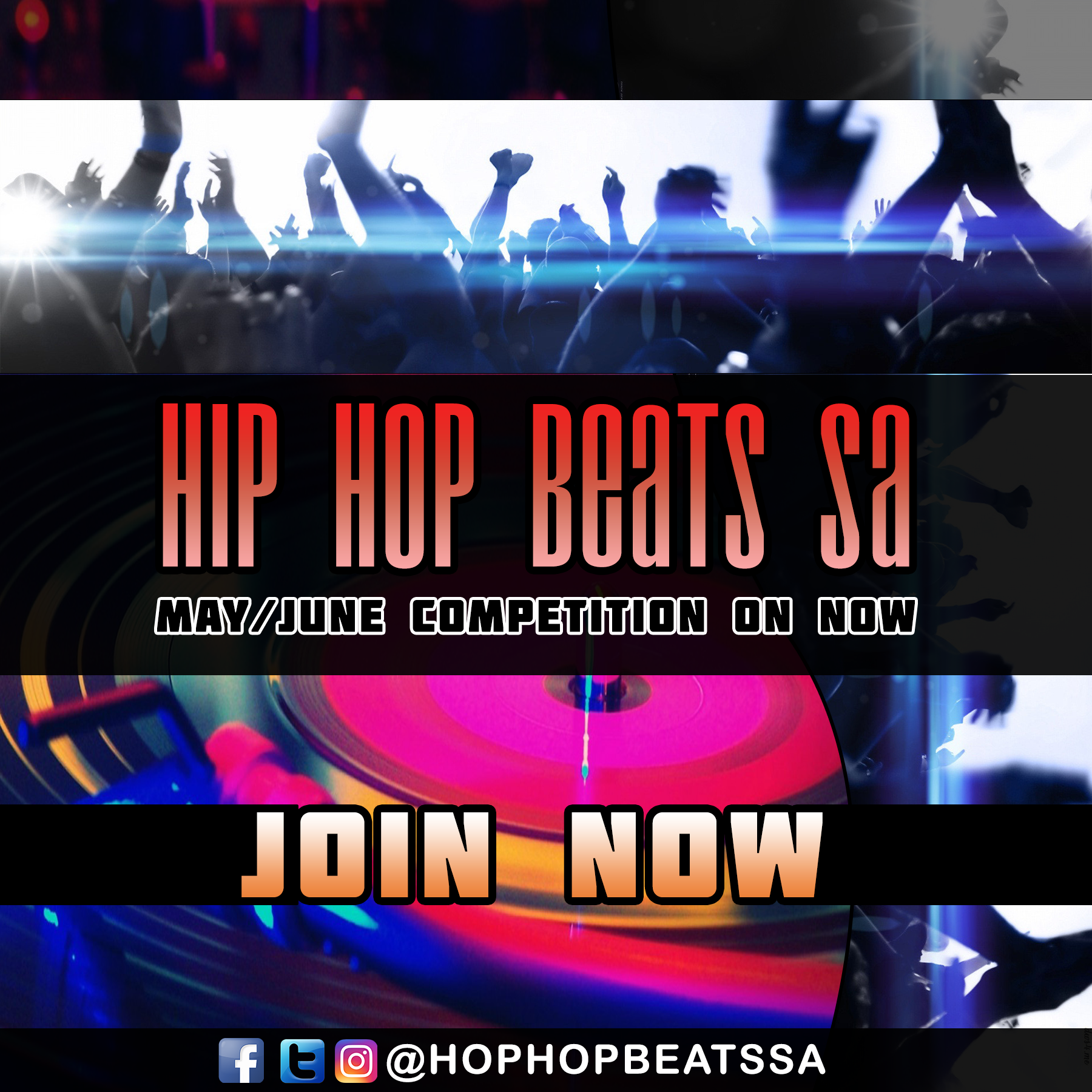 Hip Hop Beats SA May June Competition